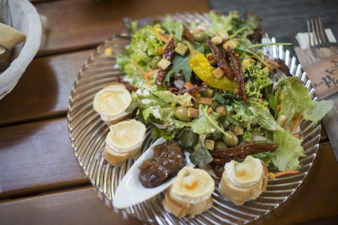 Salat Blöde ziege